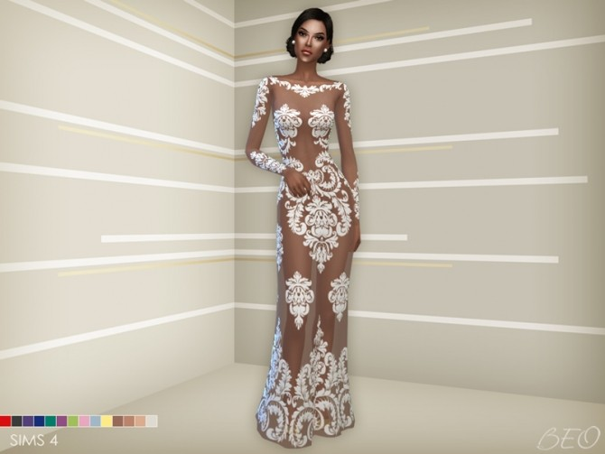 ANVEAY DRESS at BEO Creations image 6923 670x503 Sims 4 Updates