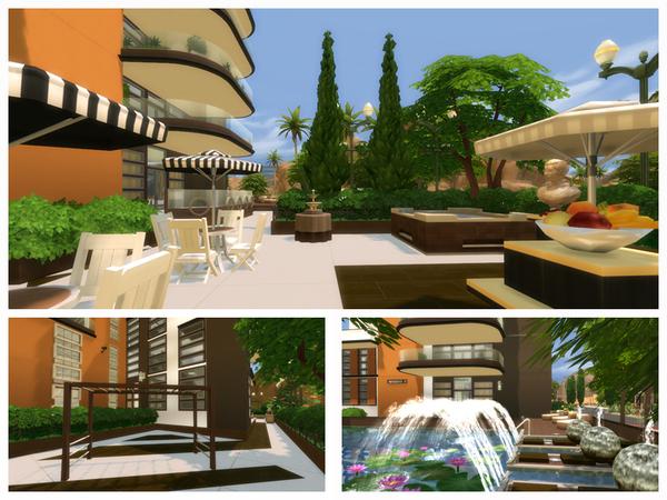 Sims 4 Daisy house by Danuta720 at TSR