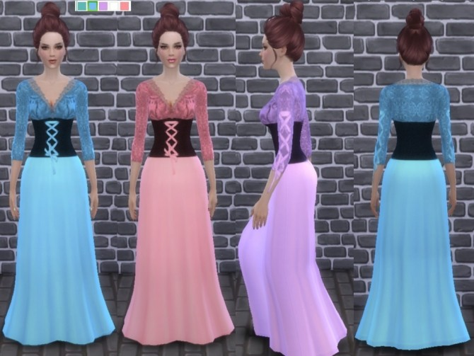 Medieval dress at Tatyana Name image 7015 670x503 Sims 4 Updates