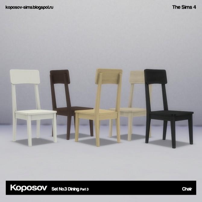 Set No.3 Dining Part 3 at Koposov image 702 670x670 Sims 4 Updates