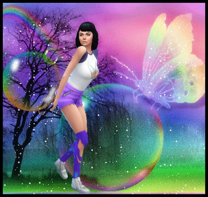 La Fée Gnante (The Lazy fairy) by Mich Utopia at Sims 4 Passions image 7107 670x633 Sims 4 Updates