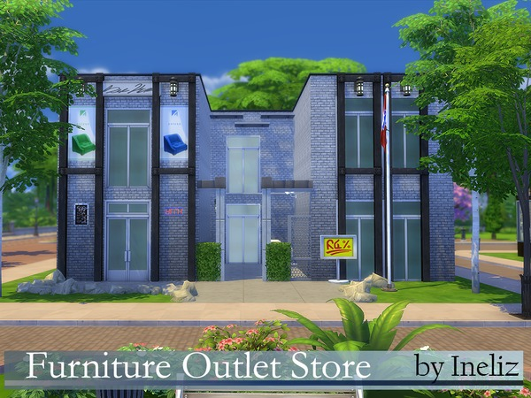 Furniture Outlet Store by Ineliz at TSR image 7116 Sims 4 Updates