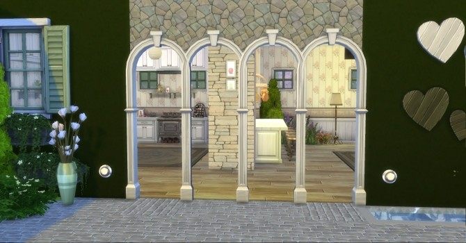 Praire Post and Arch with Keystone by AdonisPluto at Mod The Sims image 7117 670x350 Sims 4 Updates