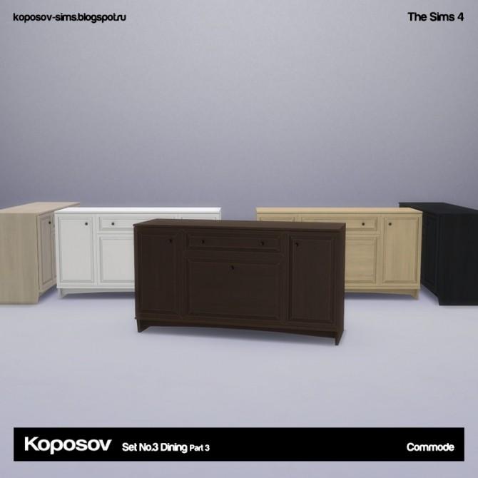 Set No.3 Dining Part 3 at Koposov image 713 670x670 Sims 4 Updates