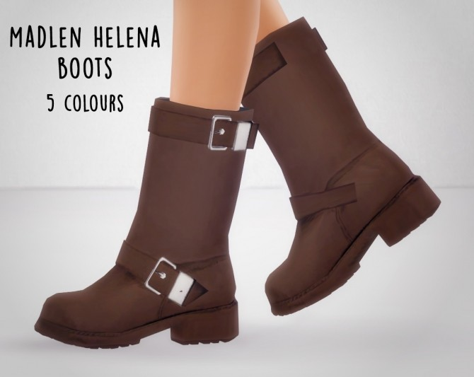 Sims 4 Boot recolors at Nyloa