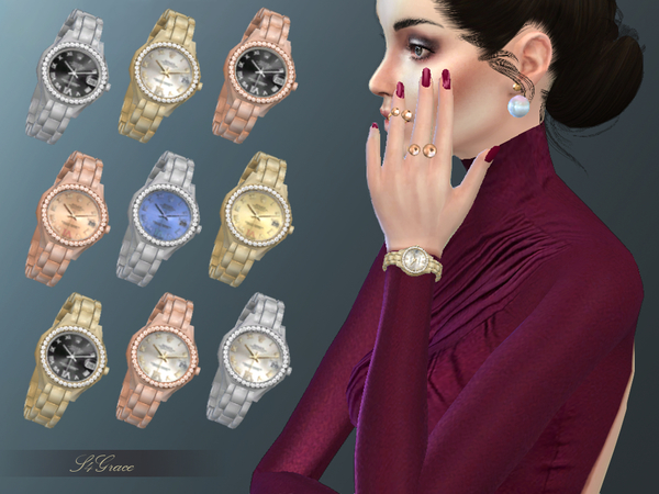 Sims 4 Watch by S4Grace at TSR
