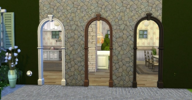 Praire Post and Arch with Keystone by AdonisPluto at Mod The Sims image 7411 670x350 Sims 4 Updates