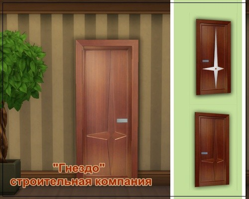 Sims 4 Astoria doors at Sims by Mulena