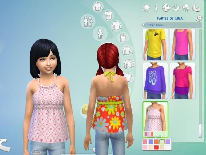 Pleated Top at My Stuff image 744 670x506 Sims 4 Updates