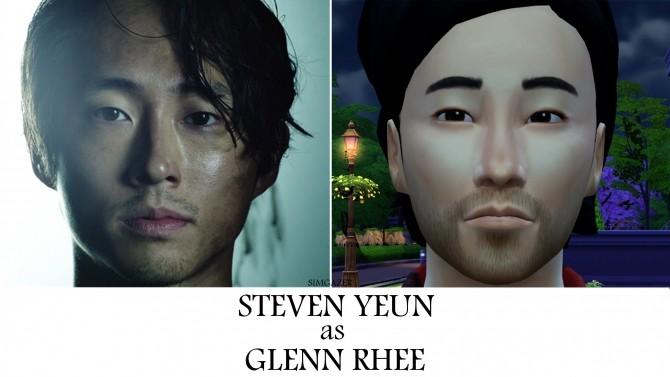 Sims 4 Glenn Rhee  by simgazer at Mod The Sims