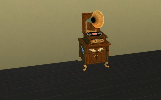 Sims 4 The Benet Phonograph by g1g2 at Mod The Sims