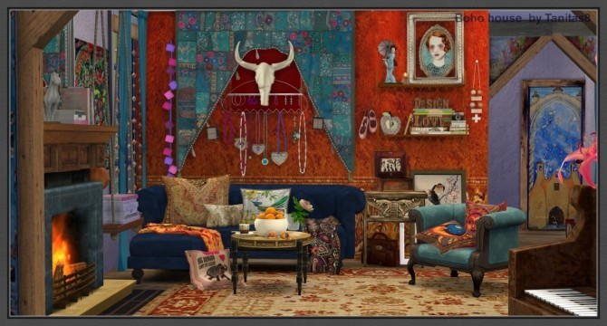 Boho House At Tanitas8 Sims 187 Sims 4 Updates