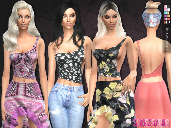 102 Cut out top by sims2fanbg at TSR image 830 Sims 4 Updates
