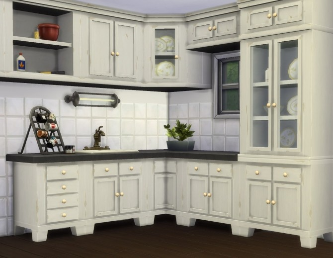 Sims 4 Country Kitchen by plasticbox at Mod The Sims