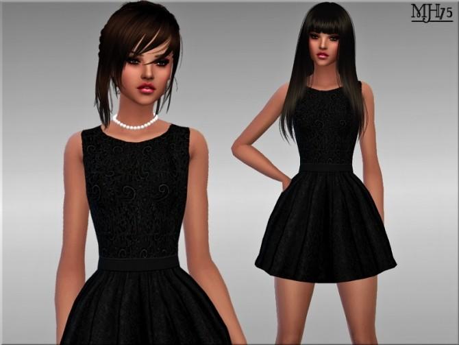 Sims 4 Lela Dress by Margie at Sims Addictions