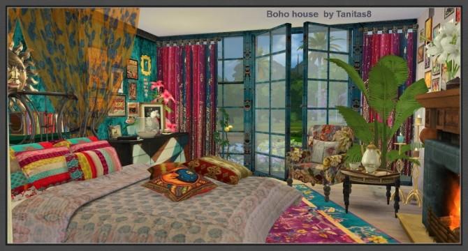 Boho Tapestry Living Room