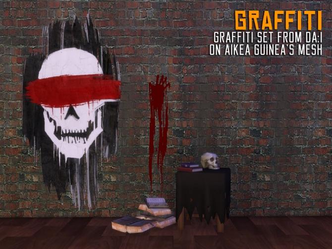 Sims 4 Graffiti Downloads 187 Sims 4 Updates