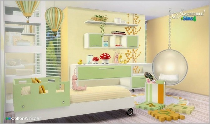 Cotton Whisper Room For Twins Kids At Simcredible