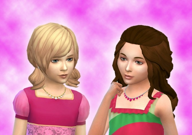 Sims 4 Necklace Pearl for Girls at My Stuff