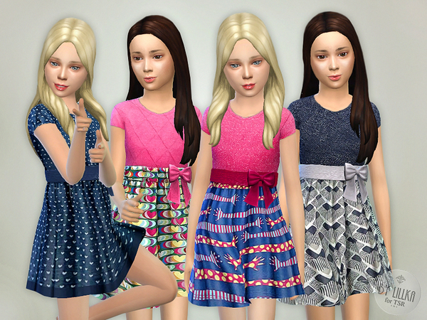 Sims 4 Designer Dresses Collection P05 by lillka at TSR