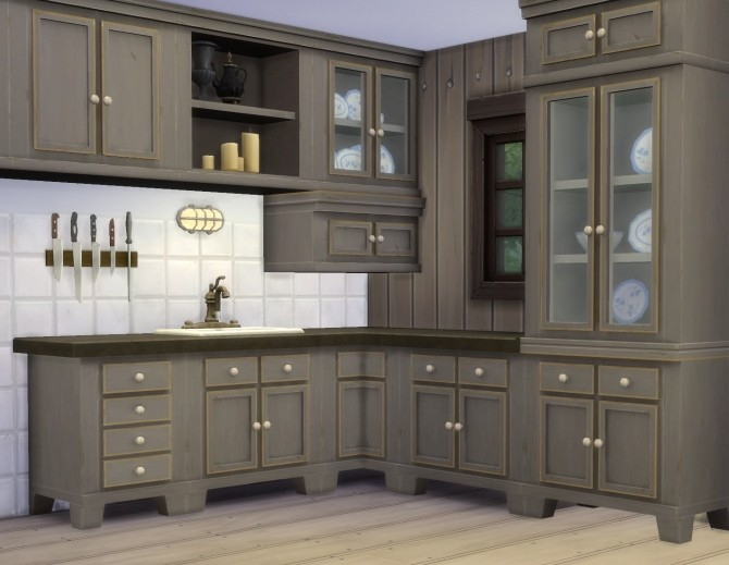 Country Kitchen By Plasticbox At Mod The Sims 187 Sims 4