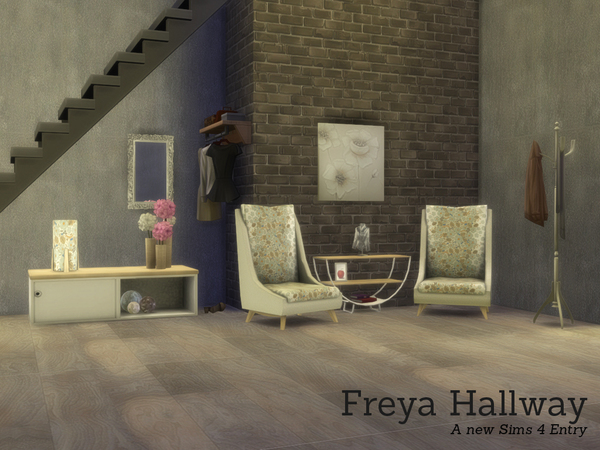 Sims 4 Freya Hallway by Angela at TSR
