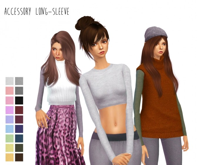 Acc. long sleeves at Dani Paradise image 891 670x561 Sims 4 Updates
