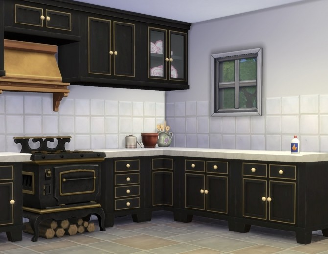 Sims  Plasticbox Country Kitchen