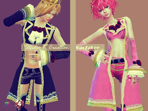Versailles Chic Teru tops at Studio K Creation image 8923 Sims 4 Updates