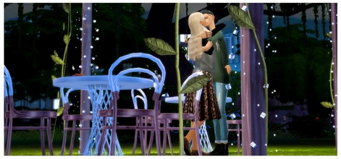First Kiss posepack at Dani Paradise image 921 670x313 Sims 4 Updates