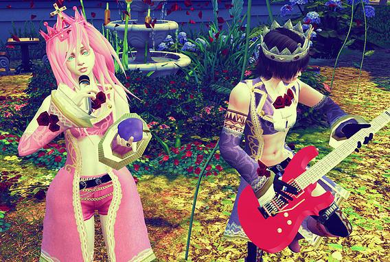 Versailles Chic Teru tops at Studio K Creation image 9226 Sims 4 Updates