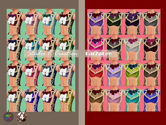 Versailles Chic Teru tops at Studio K Creation image 9325 Sims 4 Updates