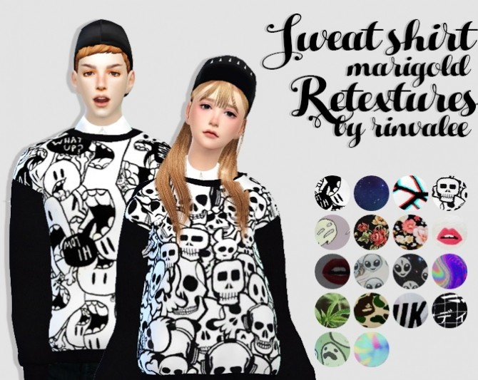 Sims 4 Sweat shirt at Rinvalee