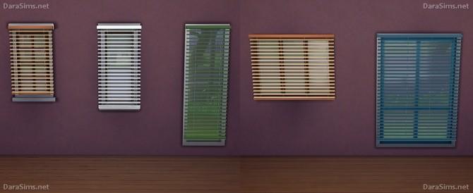 Sims 4 Window blinds at Dara Sims