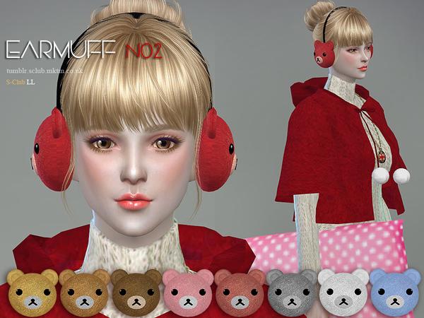 Earmuff N02 by S Club LL at TSR image 10109 Sims 4 Updates
