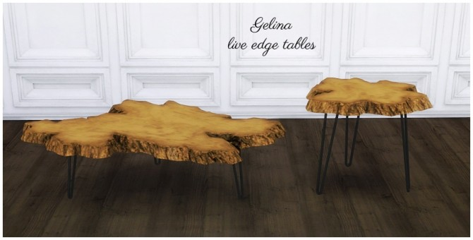 Gelina live edge tables at MIO image 10110 670x340 Sims 4 Updates