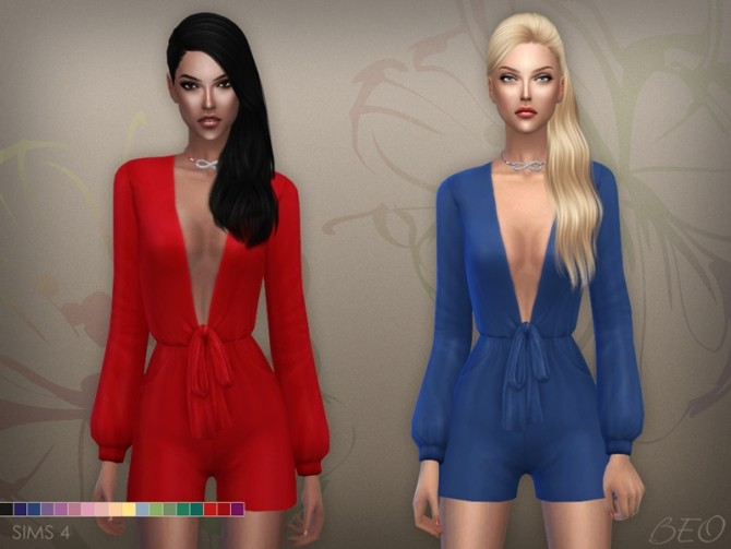 Sims 4 PLAYSUIT at BEO Creations