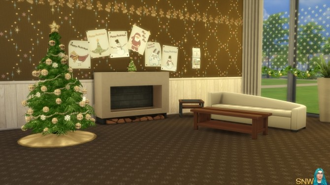 Sims 4 Christmas 2015 Poster Set at Sims Network – SNW