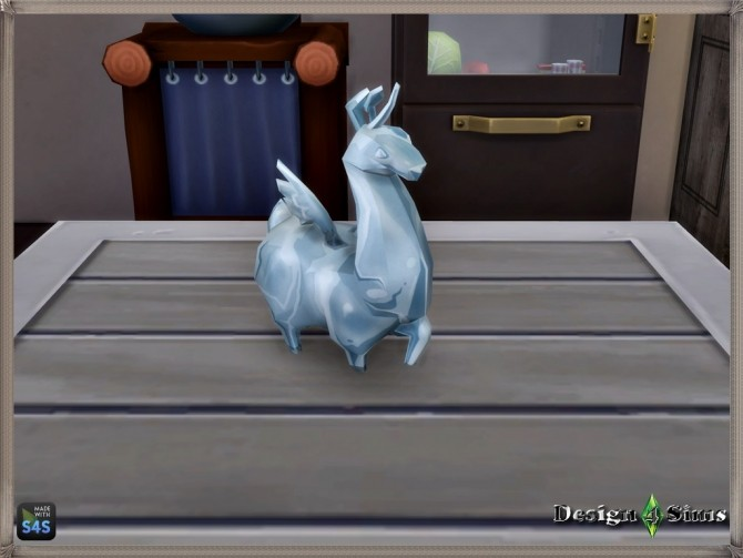 Glass Flying Llama Toy By Design 4 Sims At Sims 4 Studio Sims 4 Updates