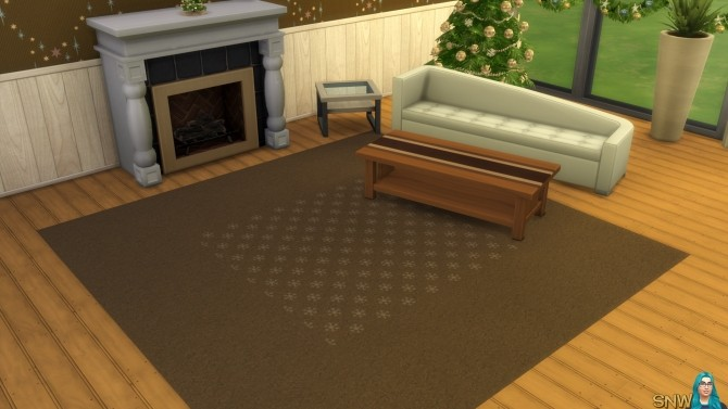 Sims 4 Winter 2015 Carpeting at Sims Network – SNW