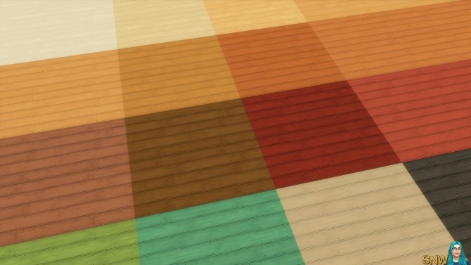 Sims 4 Rustic Subfloor Slats at Sims Network – SNW