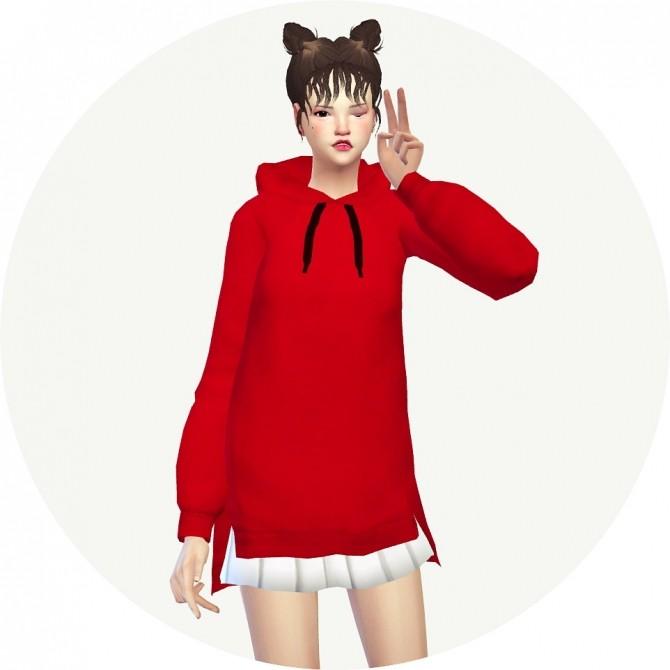 Sims 4 Long Hoodie at Marigold