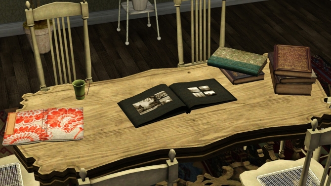 By The Book Clutter At Baufive B5studio 187 Sims 4 Updates