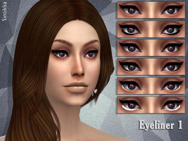 Sims 4 Eyeliner 1 by Sintiklia at TSR