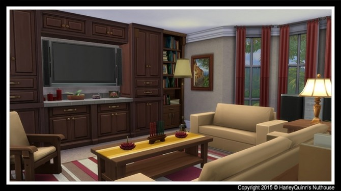 Sims 4 The Griswolds house at Harley Quinn's Nuthouse