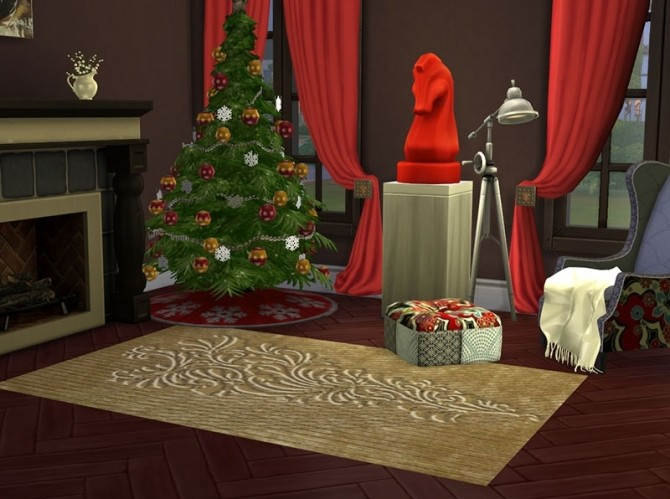 Christmas Chic Carpets by Delise at Sims Artists image 10813 670x499 Sims 4 Updates