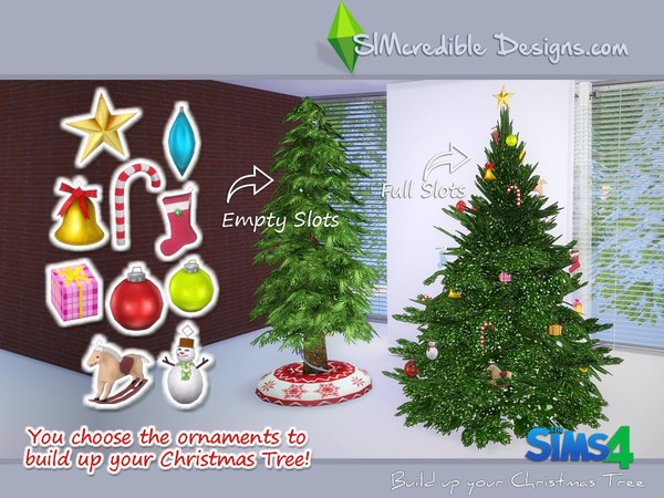 Build up your Christmas tree by SIMcredible! at TSR image 1090 Sims 4 Updates