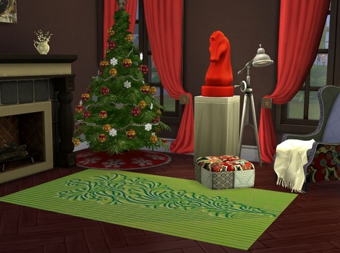 Christmas Chic Carpets by Delise at Sims Artists image 10914 670x499 Sims 4 Updates