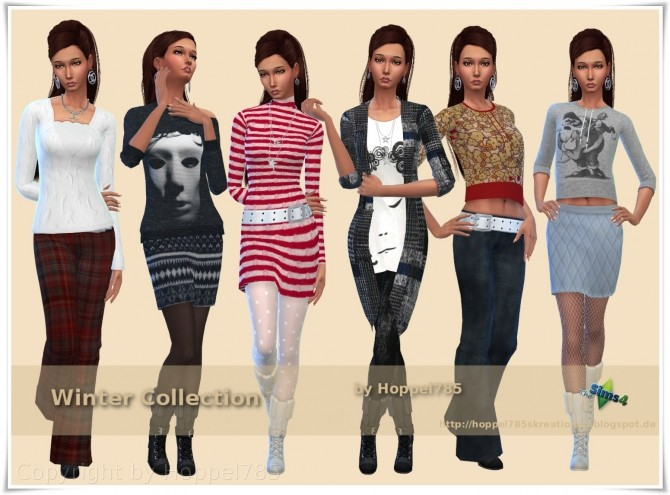 Winter Collection by Hoppel785 image 1096 670x495 Sims 4 Updates
