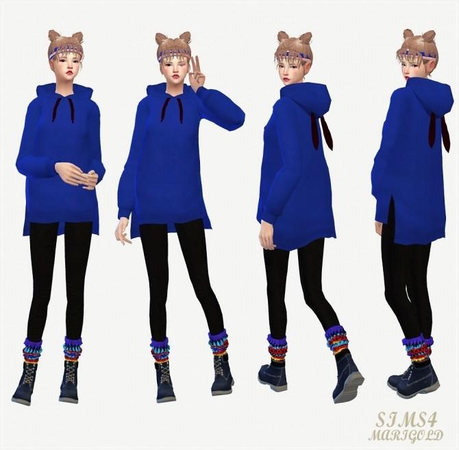 Long Hoodie At Marigold 187 Sims 4 Updates